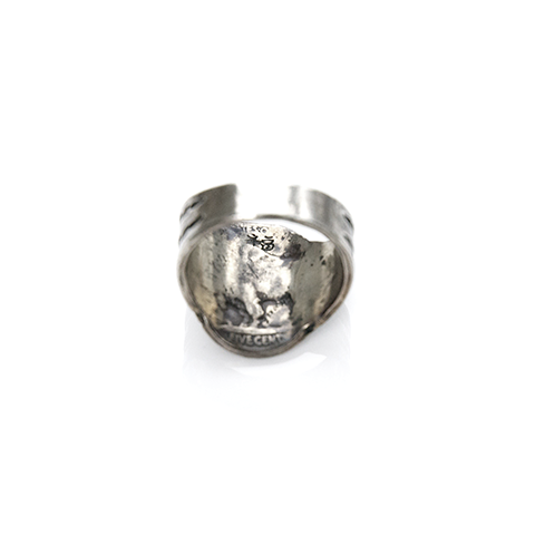 May club -【Chooke】酋長骷髏戒 M<p>Indian Skull Ring