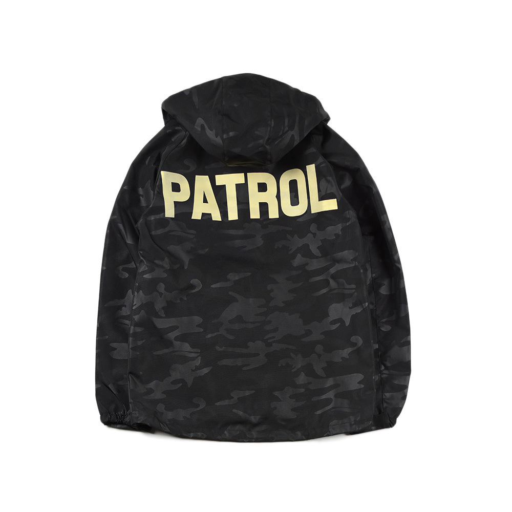 May club -【JACKSUN'S】PATROL HOODIE JACKET - WOODLAND BLACK