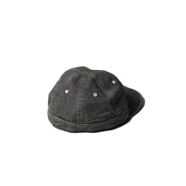May club -【WESTRIDE】ARMY CAP - WASHED BLACK