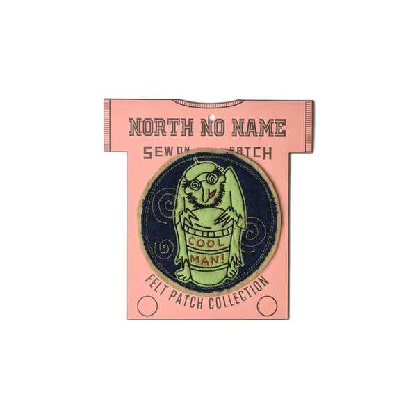 May club -【North No Name】PATCH - COOL MAN