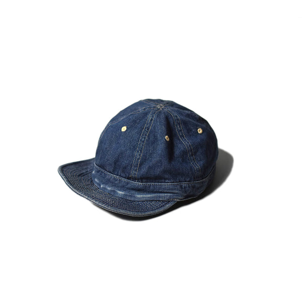 May club -【WESTRIDE】ARMY CAP - WASHED BLUE