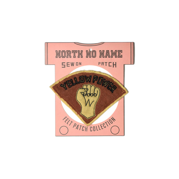 May club -【North No Name】PATCH - YELLOW POWER