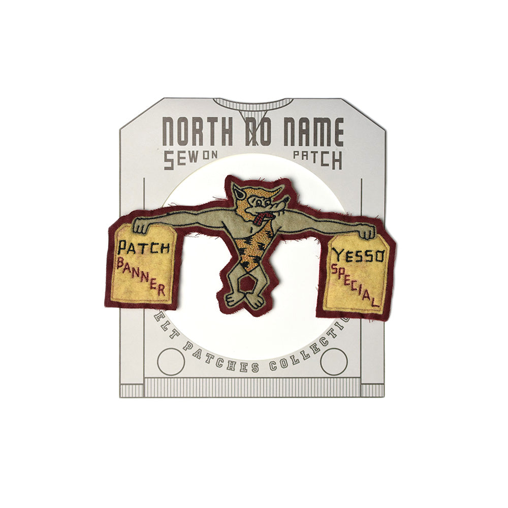 May club -【North No Name】PATCH - BANNER / SPECIAL
