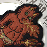 May club -【North No Name】PATCH - RED DEVIL