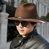 ACV-HG03HW RABBIT TRAVELER HAT - BROWN