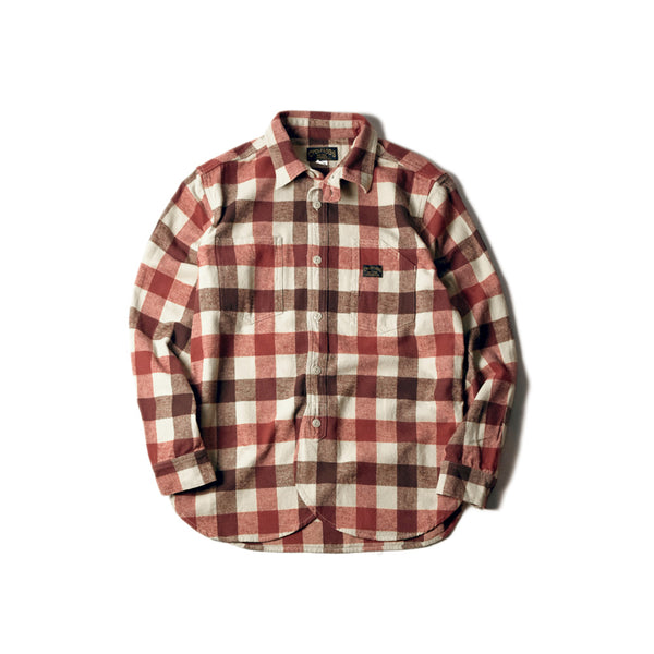 PCH SHIRTS - BRN×BEG CHECK