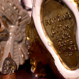 "May club -【May club】MAY CLUB X C.T.M X BLACKBOOTS ""CITY INDIAN"" INCENSE HOLDER - GOLD"