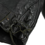 May club -【Vintage】40's STAR GLOVE & LEATHER CO. LAPD HORSEHIDE CYCLE JACKET