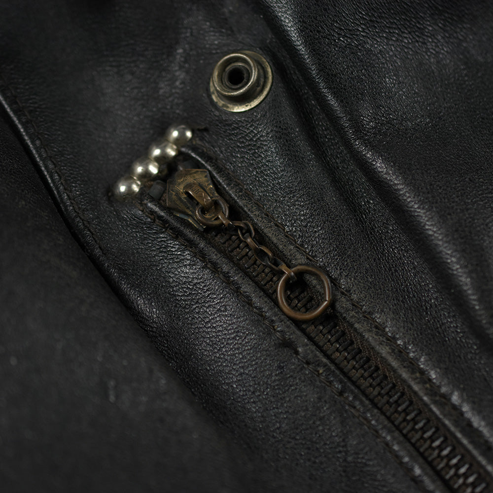 May club -【Vintage】50'S HARLEY DAVIDSON CYCLE QUEEN HORSEHIDE LEATHER MOTORCYCLE JACKET