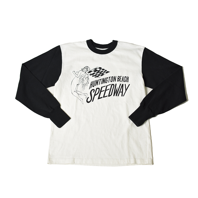 May club -【WESTRIDE】SPEEDWAY 2-TONE LONG SLEEVES TEE