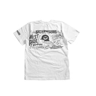 "May club -【WESTRIDE】""POWER AND SPEED"" TEE - WHITE"