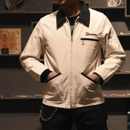 May club -【WESTRIDE】BUCKNER JACKET - OFF/NVY