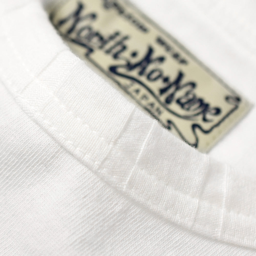 May club -【North No Name】PATCH DESIGN PRINT T-SHIRT