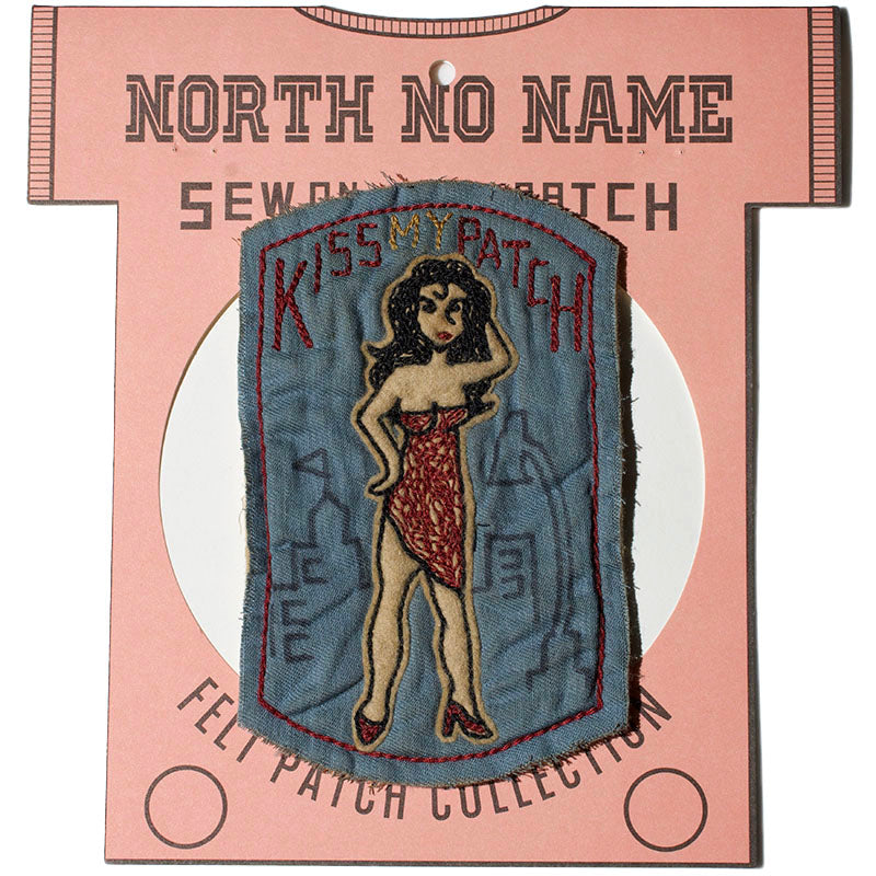 May club -【North No Name】PATCH - KISS MY PATCH
