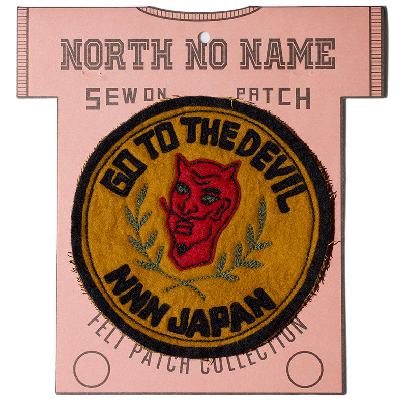 May club -【North No Name】PATCH - GO TO THE DEVIL