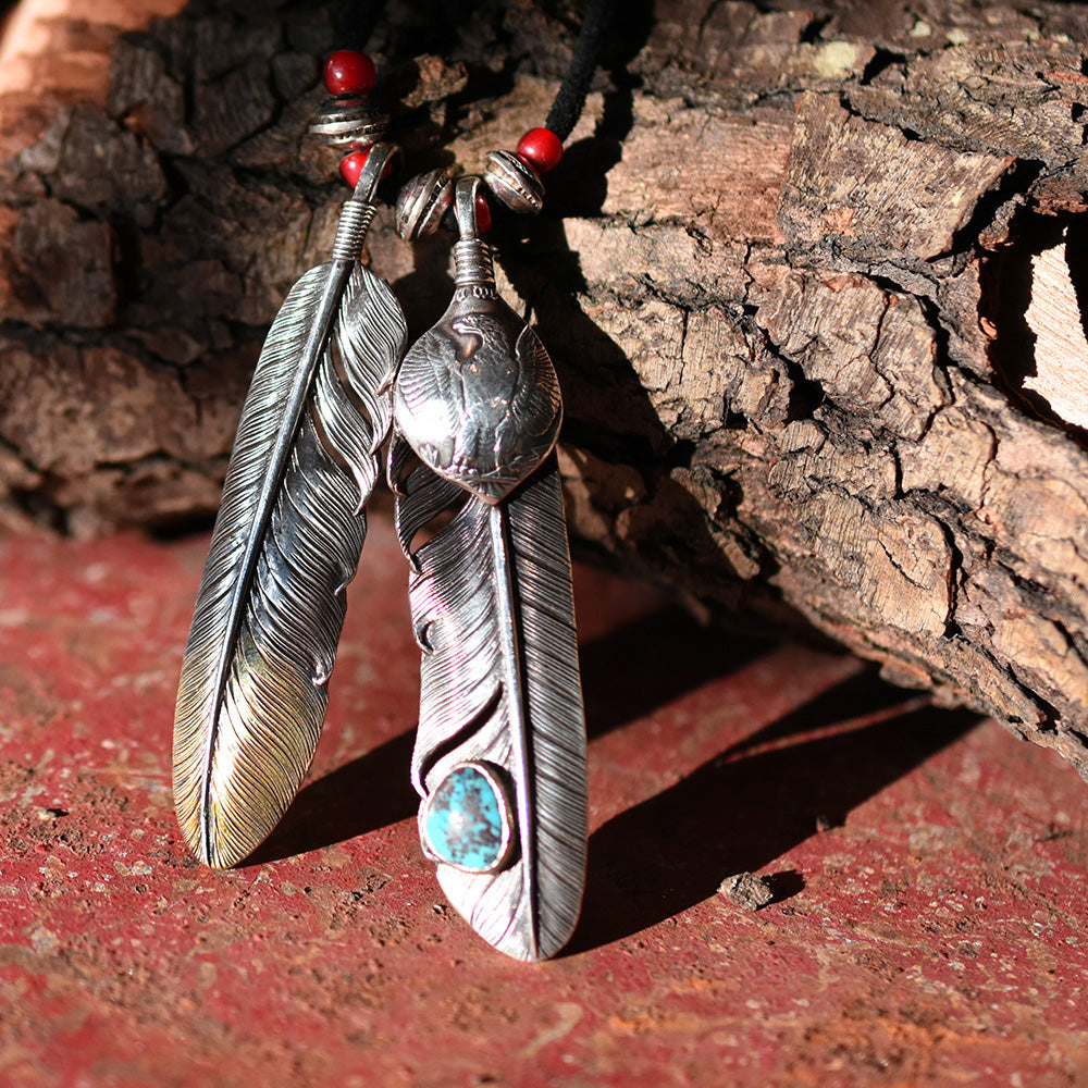 May club -【Chooke】MORGAN SILVER FEATHER BISBEE SET