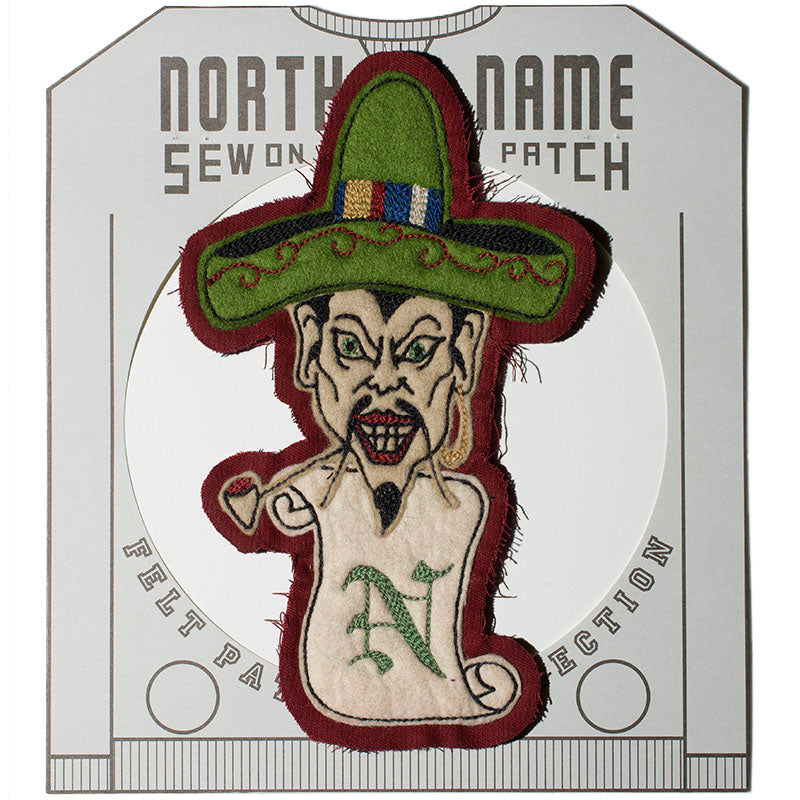 May club -【North No Name】PATCH - SOMBRERO MAN