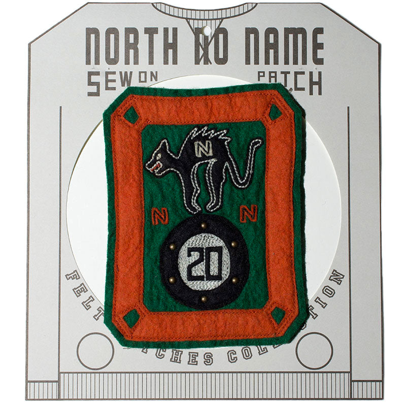 May club -【North No Name】PATCH - BLACK CAT