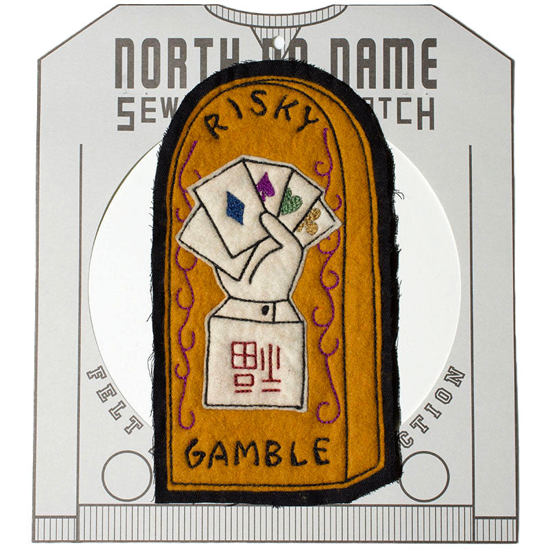 May club -【North No Name】PATCH - RISKY GAMBLE
