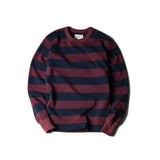 May club -【WESTRIDE】HEAVY BORDER LONG SLEEVES TEE - BGDY/NVY