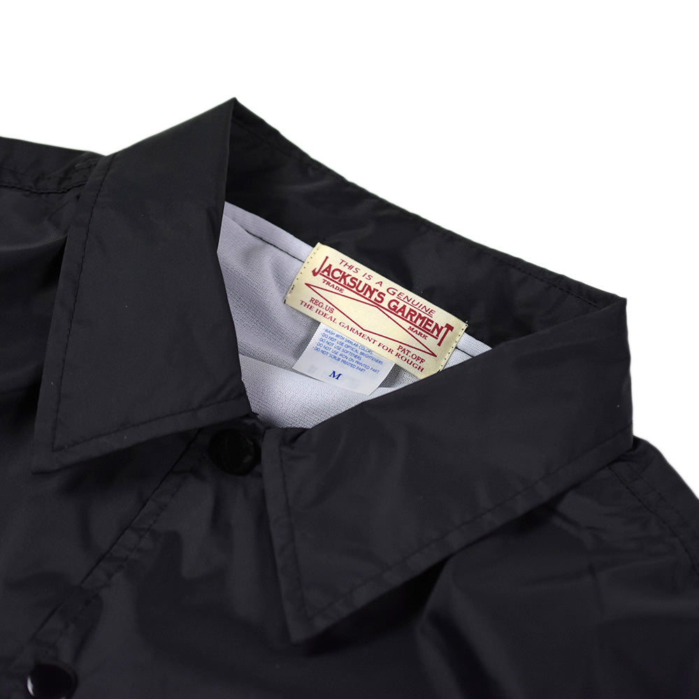 May club -【JACKSUN'S】MCA COACH JACKET - BLACK