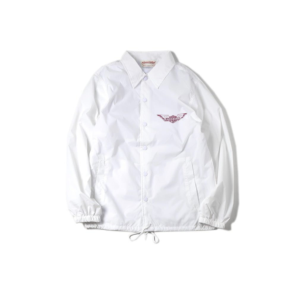 May club -【JACKSUN'S】MCA COACH JACKET - WHITE