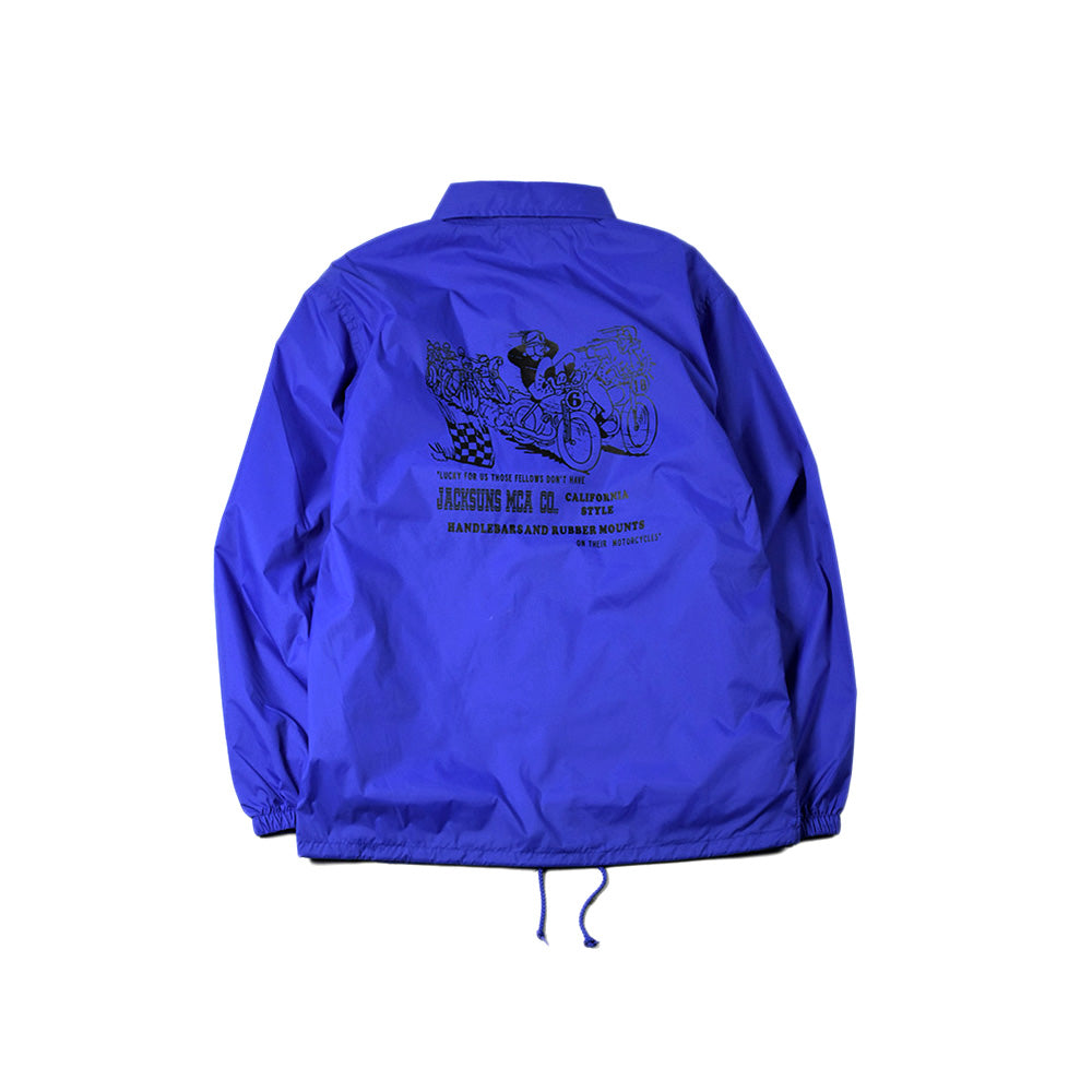 May club -【JACKSUN'S】MCA COACH JACKET - BLUE
