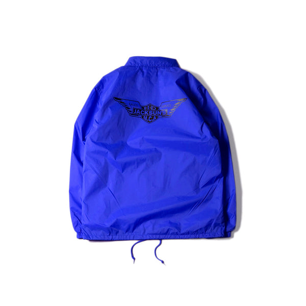 May club -【JACKSUN'S】WING COACH JACKET - BLUE
