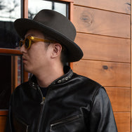 "May club -【BAD QUENTIN】STUDDED SINGLE RIDERS ""SPEEDWAY LEATHERS"""