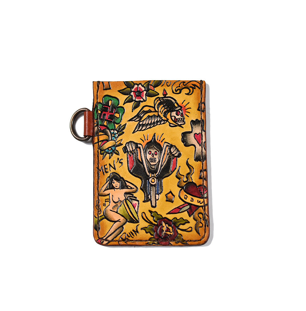 May club -【GDW Studio】CARD HOLDER - Death Biker