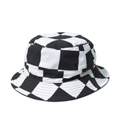 May club -【WESTRIDE】REVERSIBLE BUCKET HAT CHECKER/BLACK