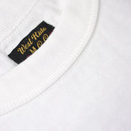 "May club -【WESTRIDE】""HARLEY'S CYCLE SHOP"" TEE - WHITE"