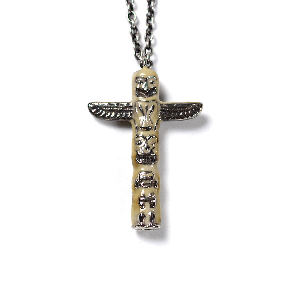 May club -【BAD QUENTIN】TOTEM POLE NECKLACE