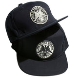 May club -【May club】LIVE IN THE MOMENT TRUCKER CAP - BLACK