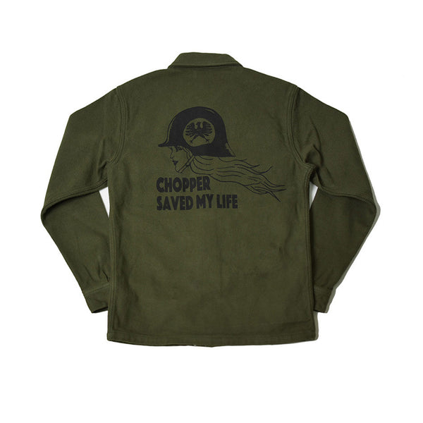 May club -【WESTRIDE】AL ARMY NEL SHIRT