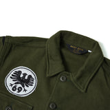 May club -【WESTRIDE】AL ARMY NEL SHIRT BORDER PRINT