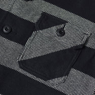 May club -【WESTRIDE】AL ARMY NEL SHIRTS ALL BLK BORDER