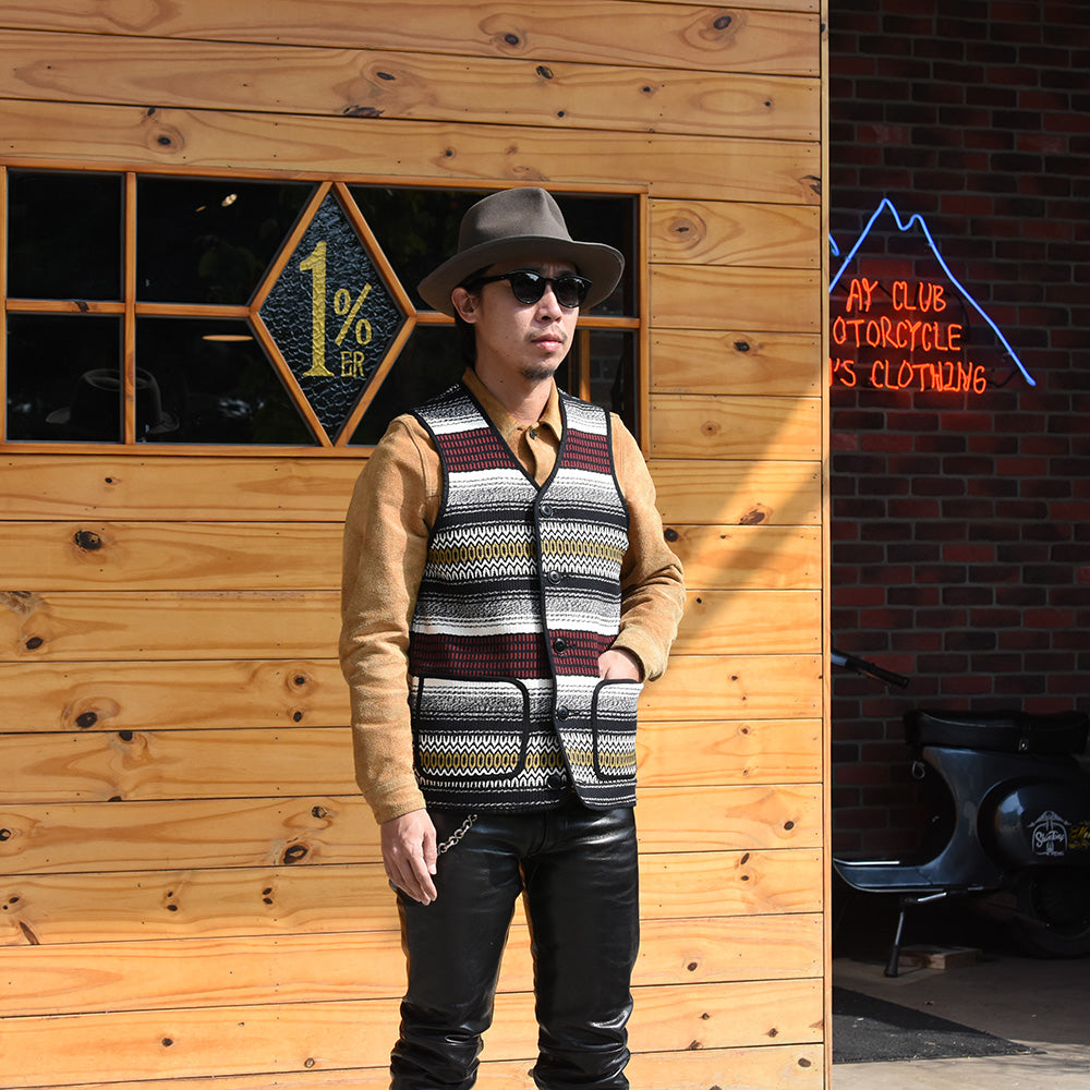 May club -【WESTRIDE】MEXICAN RUG VEST - MEXICAN RUG