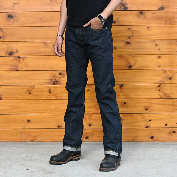May club -【Addict Clothes】AD-P-01 TIGHT TAPERED DENIM PANTS - INDIGO