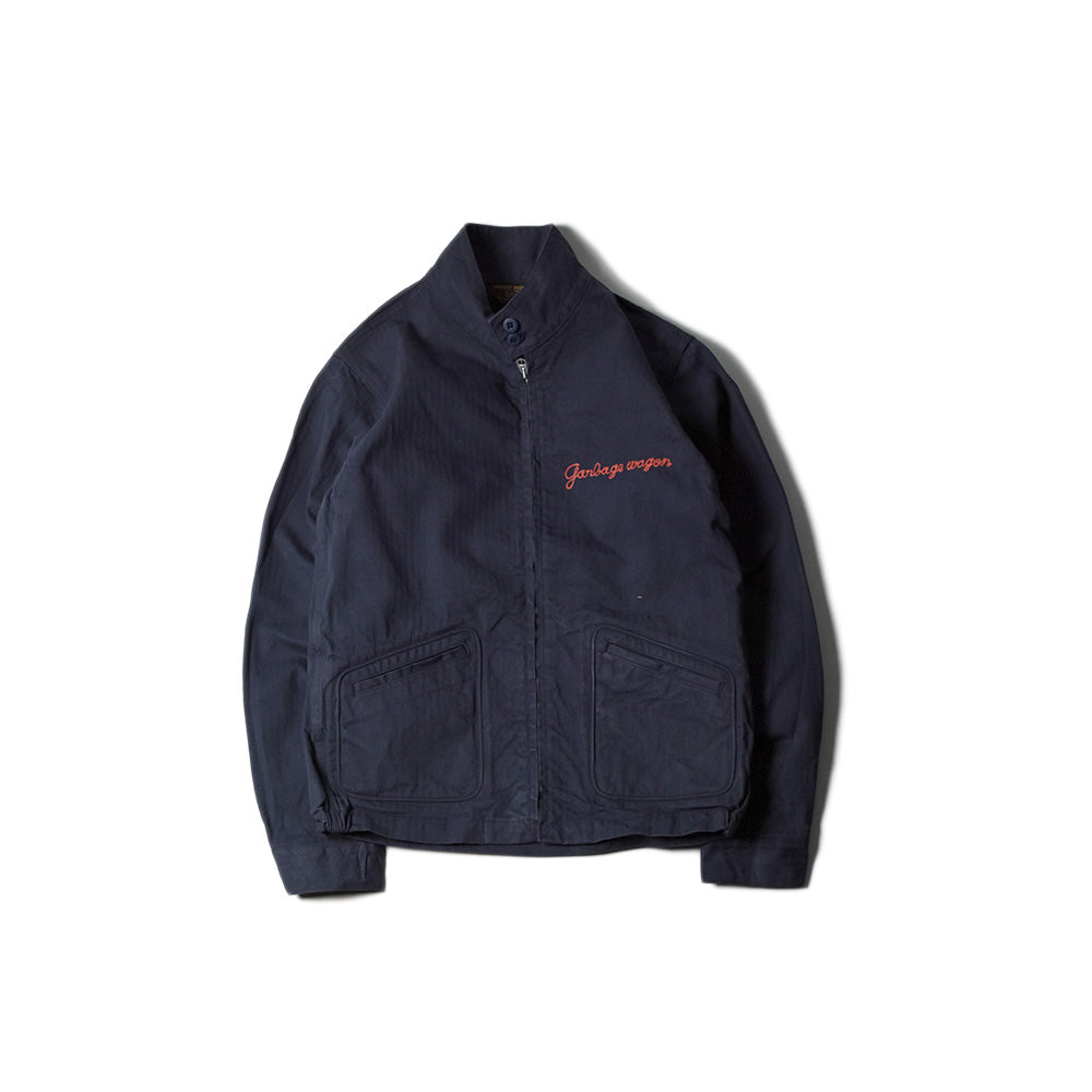 May club -【WESTRIDE】GARBAGE WAGON JACKET - NAVY