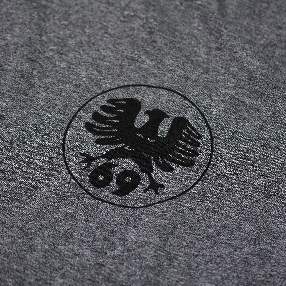 "May club -【WESTRIDE】""1948 PAN HEAD"" TEE - GREY"