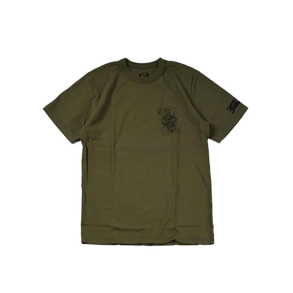 "May club -【WESTRIDE】""WR. GIRLS "" TEE - DEEP OLIVE"