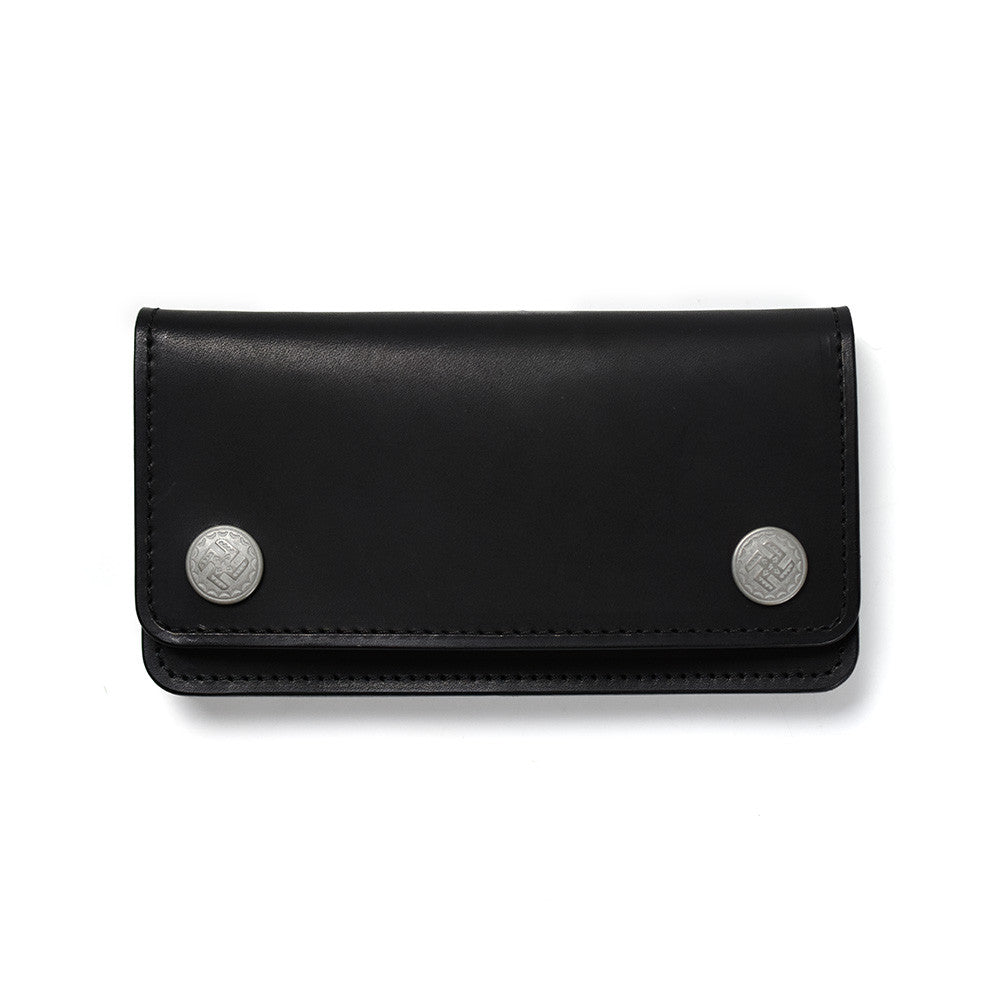 May club -【WESTRIDE】SWASTIKA BIKERS WALLET - BLACK
