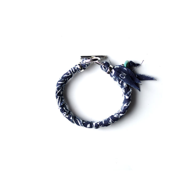 May club -【SunKu】BANDANA BRACELET - NAVY