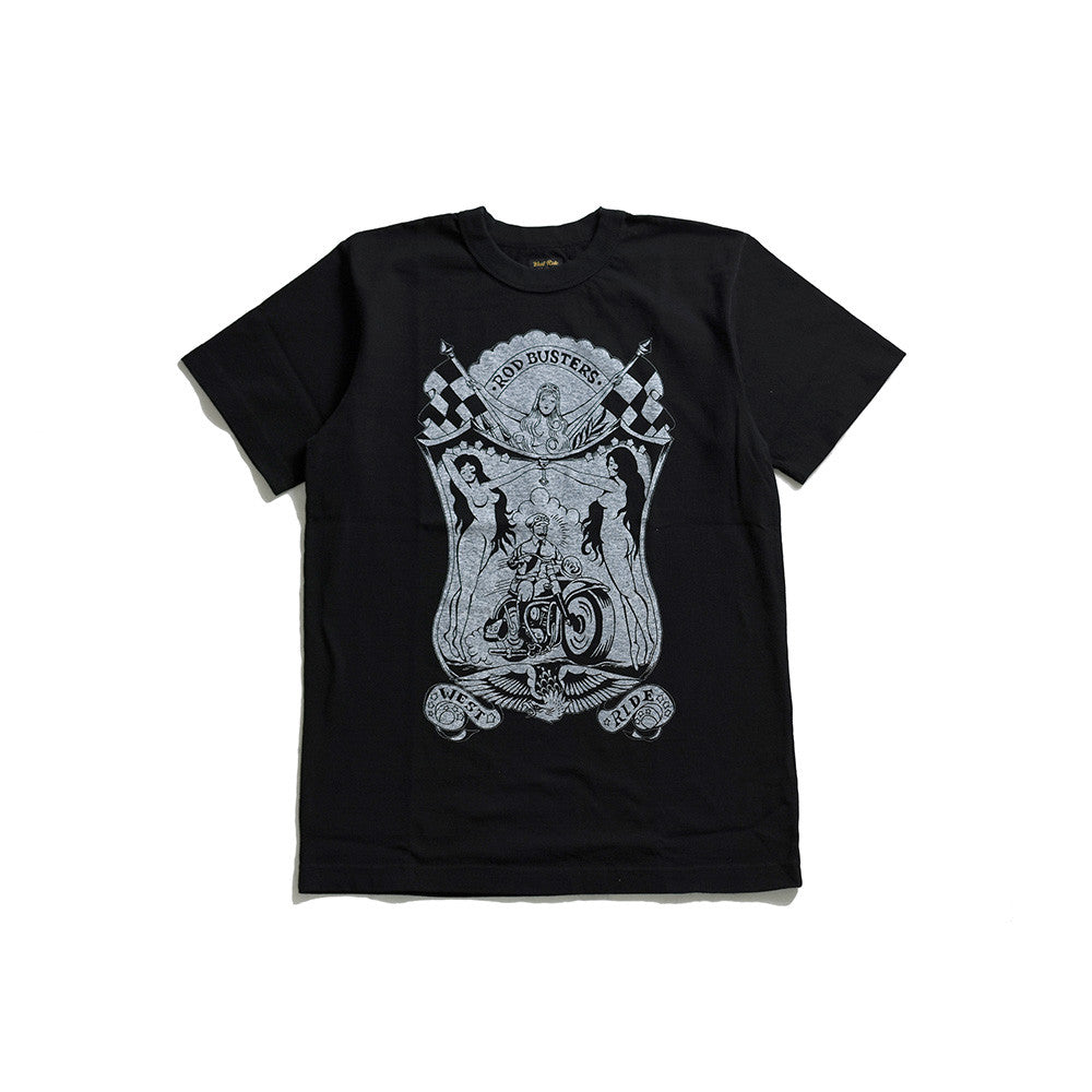 "May club -【WESTRIDE】""THE PARADISE"" TEE - BLACK"