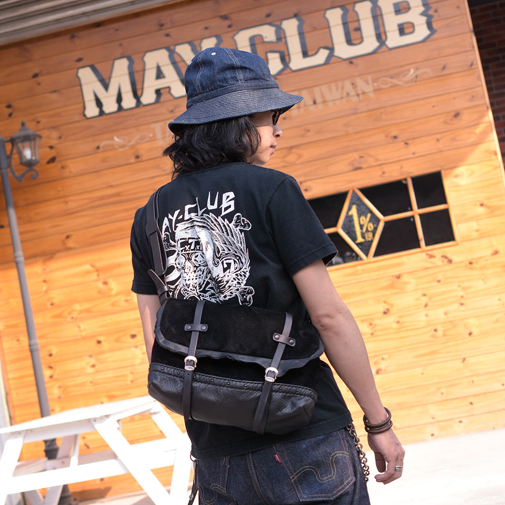May club -【SHAFT SILVER WORKS】SHAFT x CHERRY CUSTOM SHOULDER BAG