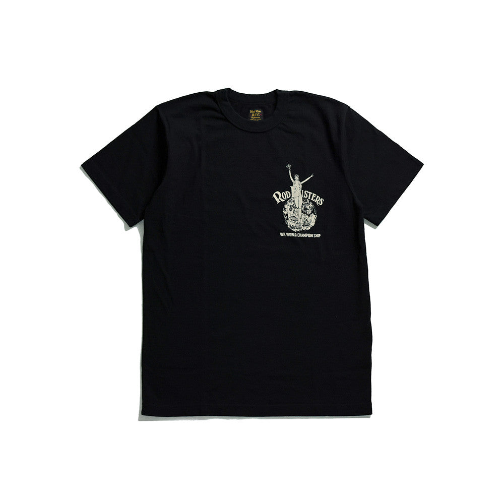 "May club -【WESTRIDE】""WORLD CHAMP"" TEE - BLACK"