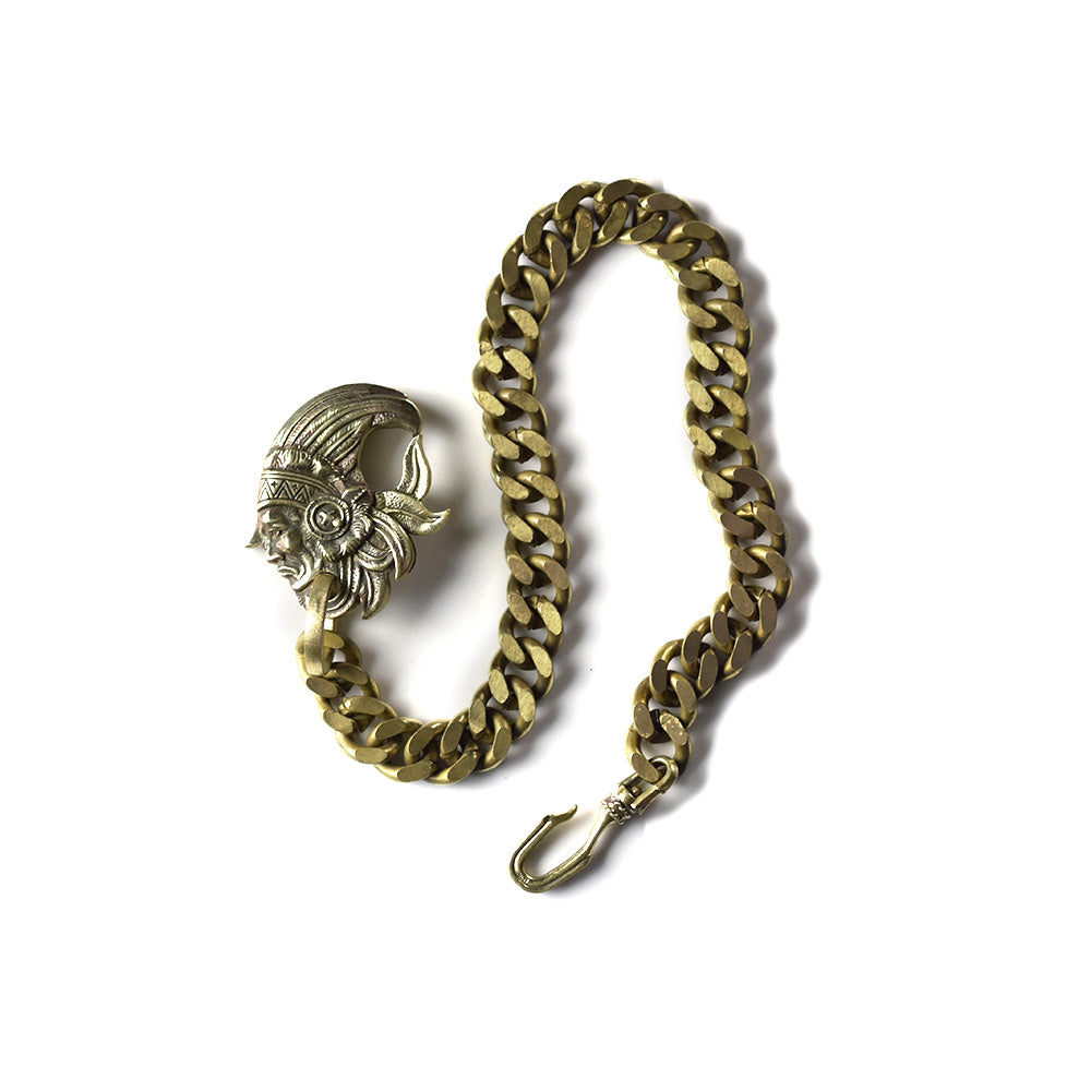 May club -【May club】NATIVE AMERICAN WALLET CHAIN - BRASS type3