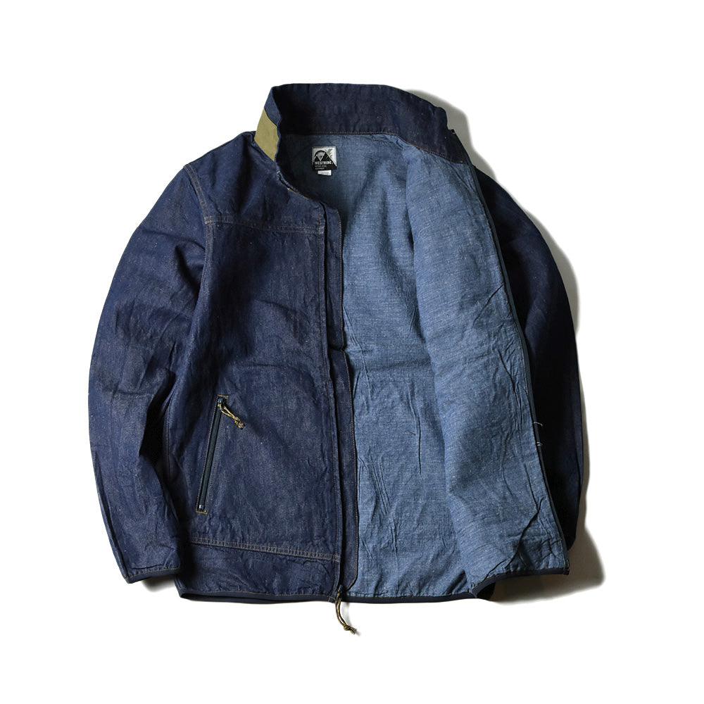 May club -【WESTRIDE】CYCLE RETRO JACKET - OLIVE