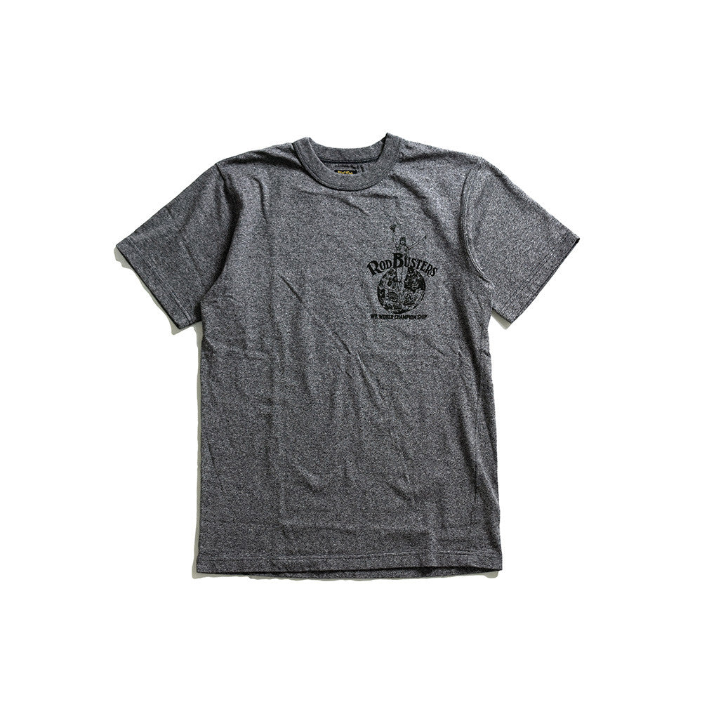 "May club -【WESTRIDE】""WORLD CHAMP"" TEE - GREY"